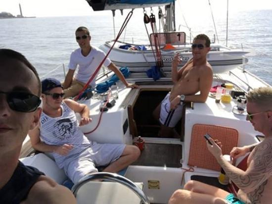 Pasito Blanco, Spania: sailing