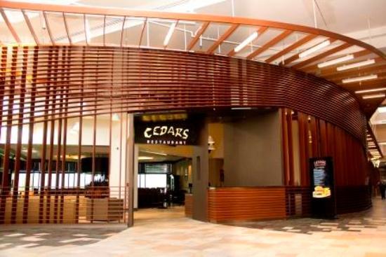 Cedars Steak House: Cedars Entrance