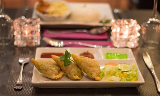 Les Samoussas Viande Picture Of Tasty Restaurant Indien Lille