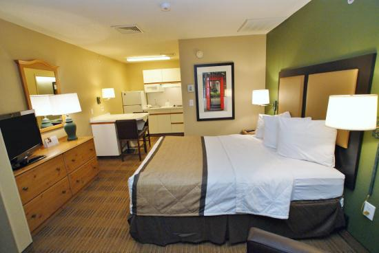 Extended Stay America - Raleigh - Crabtree Valley: Studio Suite - 1 Queen Bed