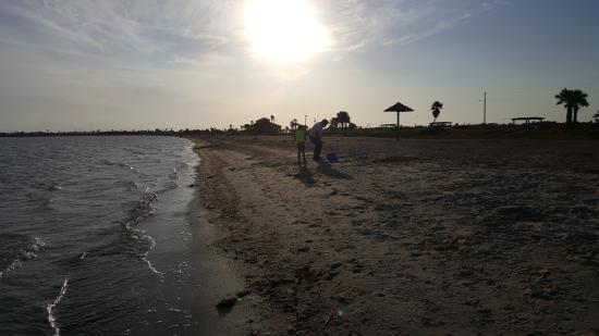 Rockport Beach: sunset