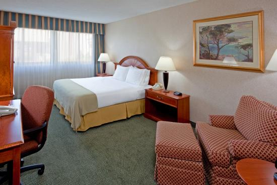 Holiday Inn Express Elmira Horseheads : King Bed Guest Room