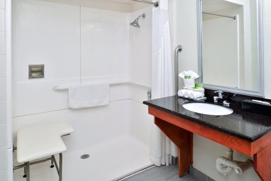 North Attleboro, MA: Handicap Roll-Inn Shower
