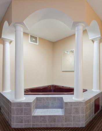 Austinburg, OH: Treat that special someone to an evening in our Jacuzzi Suite.