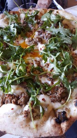Ferndale, MI: Pizza with Arugila