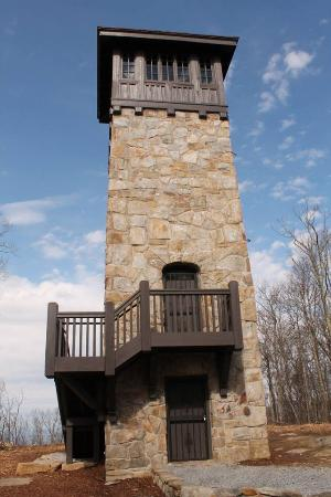 Chatsworth, Джорджия: Observation tower on Fort Mountain
