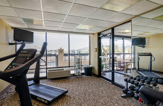 Quality Inn Troutville : Fitness Center