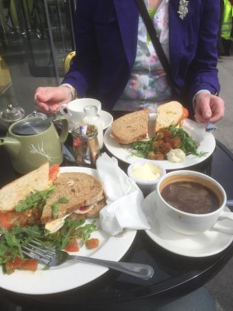 Limetree Cafe : Just a bit of lunch