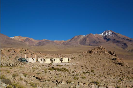 explora Atacama: These are the containers you'll sleep in one night.