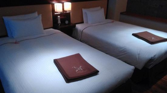 Myoko, Giappone: シンプルながらも無駄のない素敵なお部屋でした。