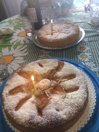 Ristorante Giardino : le torte
