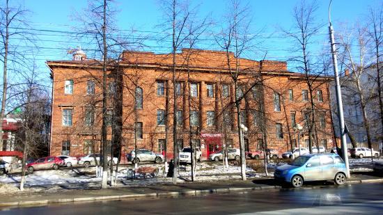Бывшая детская больница имени П. и А. Михайловых
