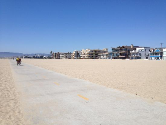 Playa Del Rey Beach Paved Bike And Walking Path