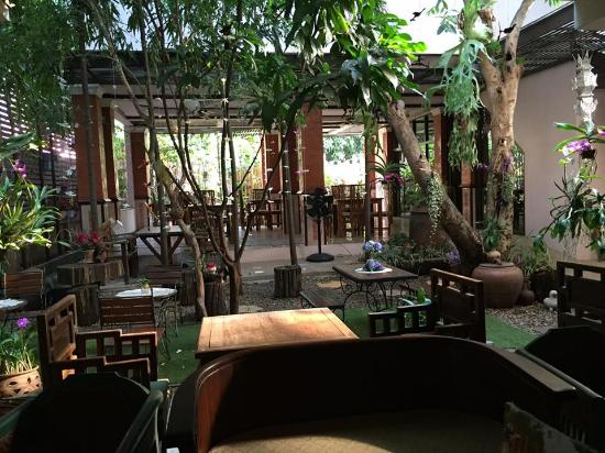 Jardin int rieur picture of pha thai house chiang mai - Jardin hydroponique d interieur ...
