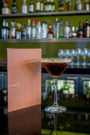 Cinnamon Restaurant and Bar: Cinnamon Espresso Martini Cocktail