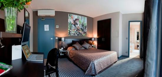 Logis Jardin De Villiers: Room8