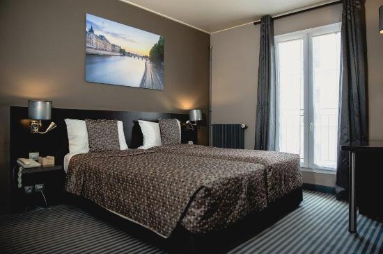 Logis Jardin De Villiers: Room10