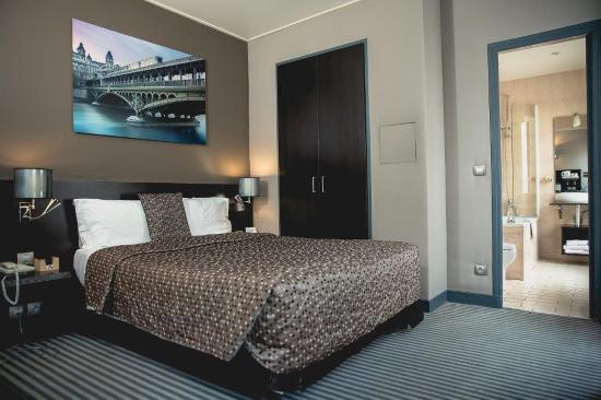 Logis Jardin De Villiers: Room11