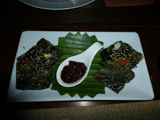 Couleur Cafe and Restaurant: Une spécialité aux algues (délicieux)