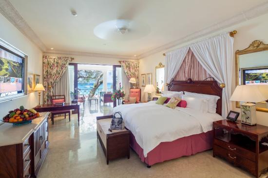 Sandy Lane Hotel: Luxury Ocean Room
