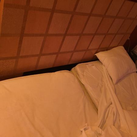 Casa de la Condesa: La cama King Size, para ellos son 2 camas individuales pegadas...