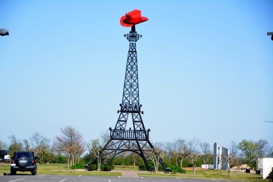 The Paris, Texas, Eiffel Tower