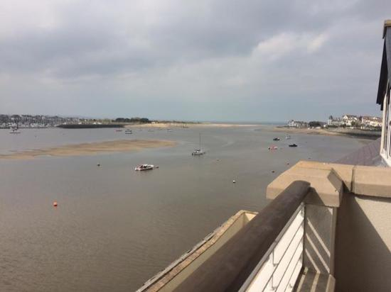 Deganwy, UK: View from our balcony