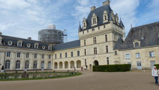 Valencay, Fransa: La cours d'honneur