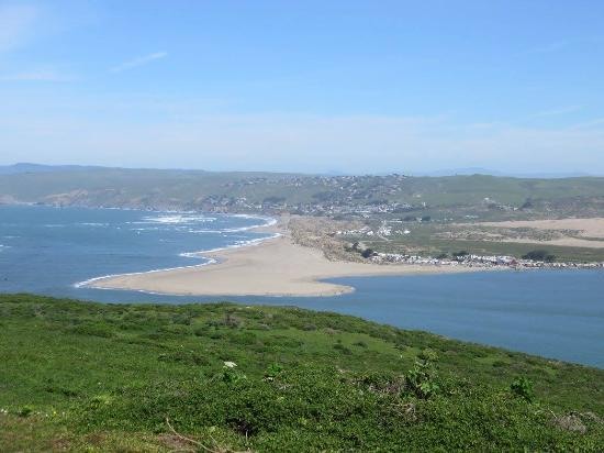 view of tomales bay inlet from the hiking trail to tomales point rh tripadvisor com