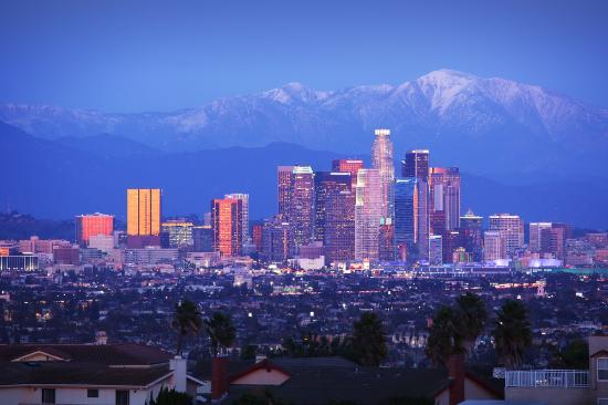 Guideline Tours: Doentown Los Angeles Skyline