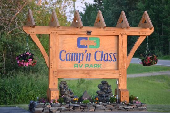 Stony Plain, Canadá: Welcome to Camp 'n Class RV Park