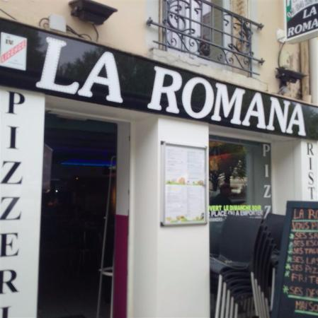 restaurant pizzeria la romana dans lons le saunier avec cuisine italienne. Black Bedroom Furniture Sets. Home Design Ideas