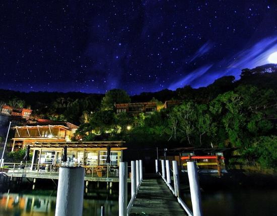 Arthurs Bay, Neuseeland: BOMCAt Evening