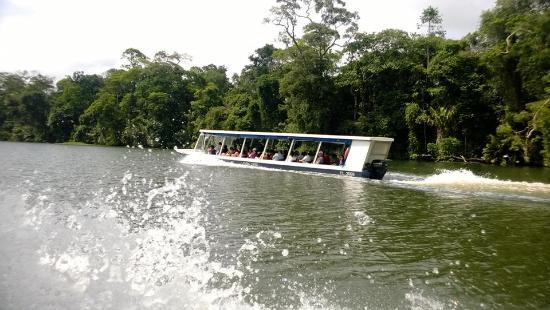 Laguna Lodge Tortuguero: Medio de transporte