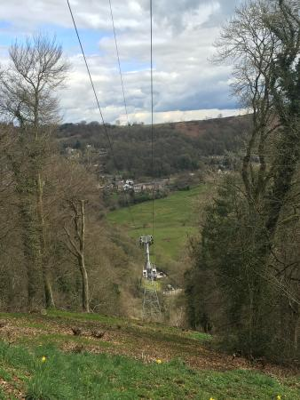 Matlock Bath, UK: The cable cars
