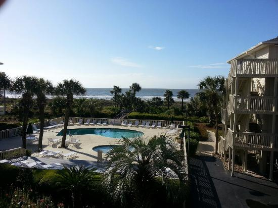 The Breakers: view from room 223
