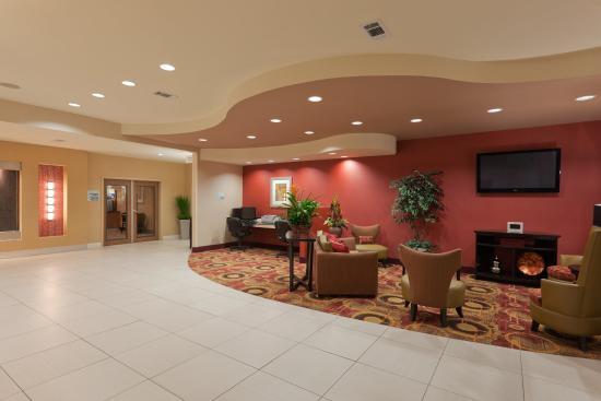 Winona, MS: Hotel Lobby