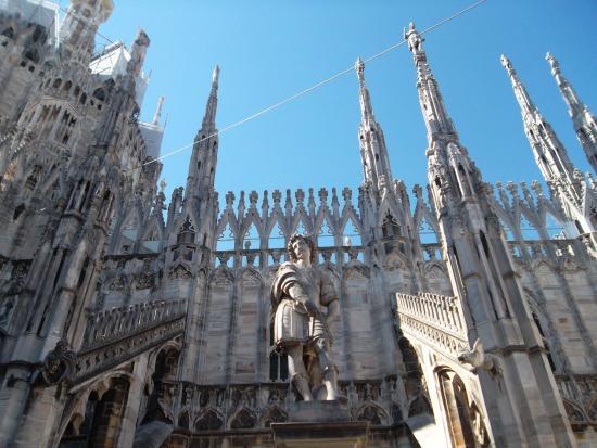 Le terrazze del Duomo! - Picture of Duomo di Milano, Milan - TripAdvisor