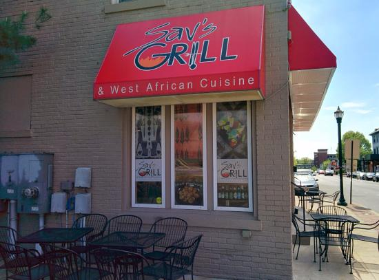 Sav's Grill in downtown Lexington