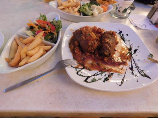 Piazza Cascata: Beef Olives