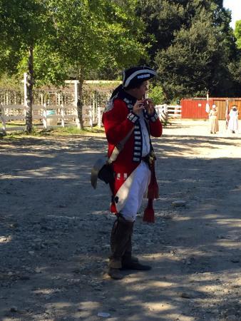 Oak Glen, CA: Time Period Soldier