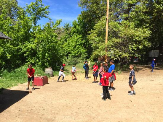 Oak Glen, CA: learning games