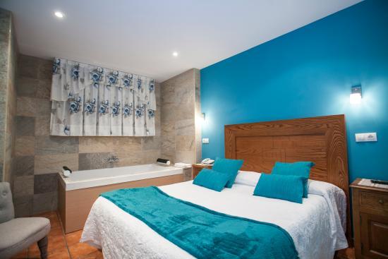 Hotel- Spa Verdemar: habitacion con jacuzzi3