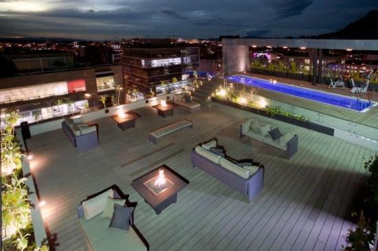 Hotel Estelar Parque De La 93: Terrace