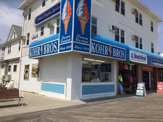 kohr brothers frozen custard ocean city restaurant reviews rh tripadvisor ie