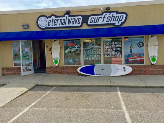 Surfside Beach, Carolina del Sur: Eternal Wave!