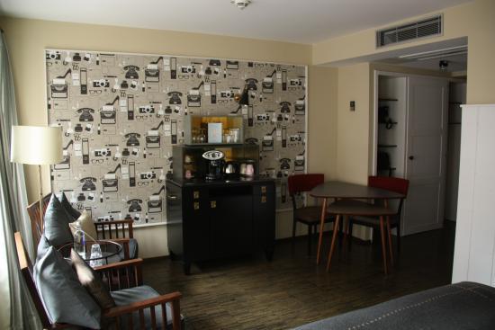 Henri Hotel Hamburg Downtown: Schön eingerichtet