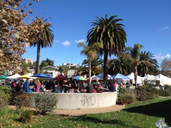 Oakland, Kalifornia: Lakeshore Farmers Market