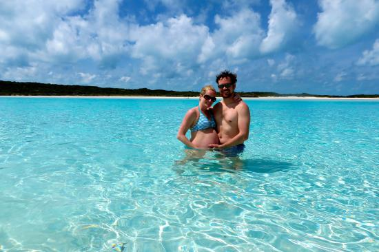 Breezy Hill Exuma Bahamas: On the pig tour - an all day outing.