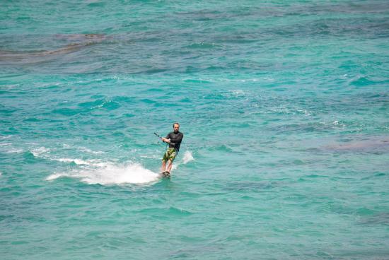North Sound, Virgen Gorda: Carib Kiteboarding, Virgin Gorda, BVI